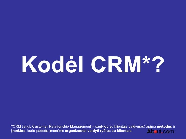 CRM pokeris + Slide 3