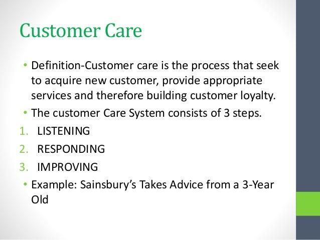 Breaking Down 'Customer'