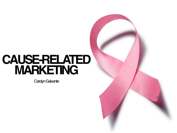 Thesis on cause related marketing