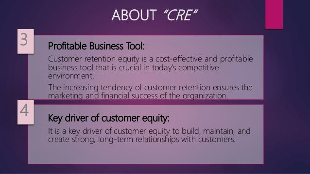 Customer Retention Equity Crm