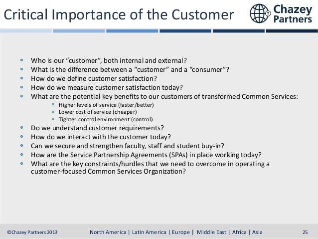 """Critical Importance of the Customer Who is our """"customer"""", both internal and external? What is the difference between a """"c..."""