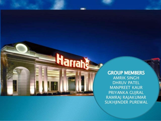 harrahs entertainment inc case study essay Harrah's entertainment, inc case analysis 1 mr philip satre chairman and  chief executive officer (harrah's entertainment, inc) 2 harrah.