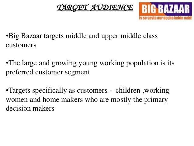 Case study big bazaar retail