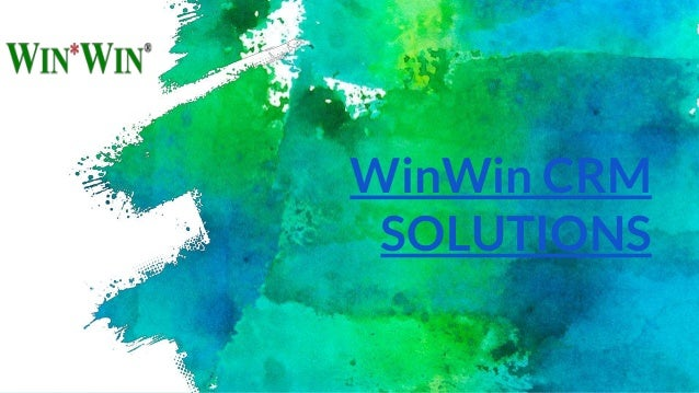 WinWin CRM SOLUTIONS