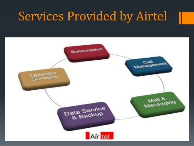 Services Provided by Airtel