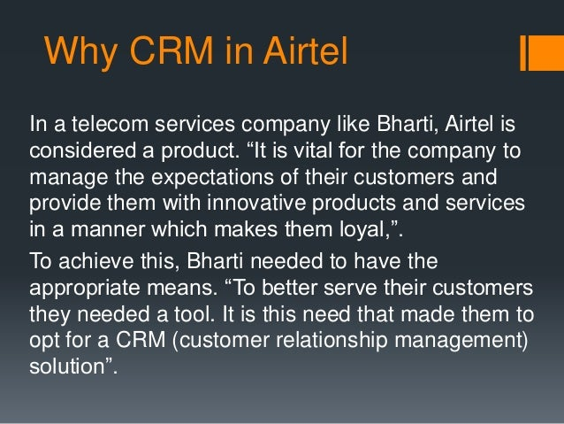 crm strategy at airtel View kazi iftekher kashem's profile on linkedin, the world's largest professional community kazi iftekher has 5 jobs listed on their profile see the complete.