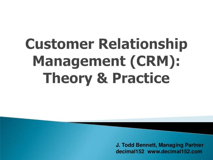 CUSTOMER RELATIONSHIP MANAGEMENT MODEL FOR BANKS