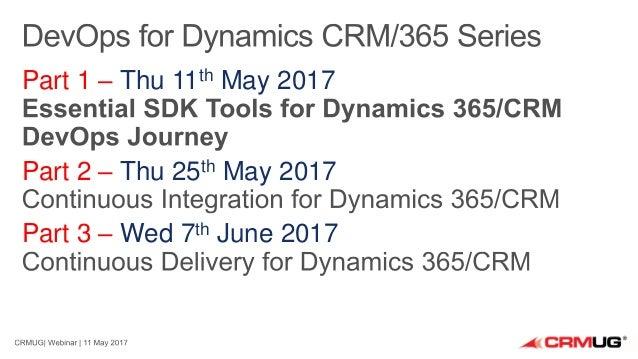 Essential SDK Tools for Dynamics 365/CRM DevOps Journey