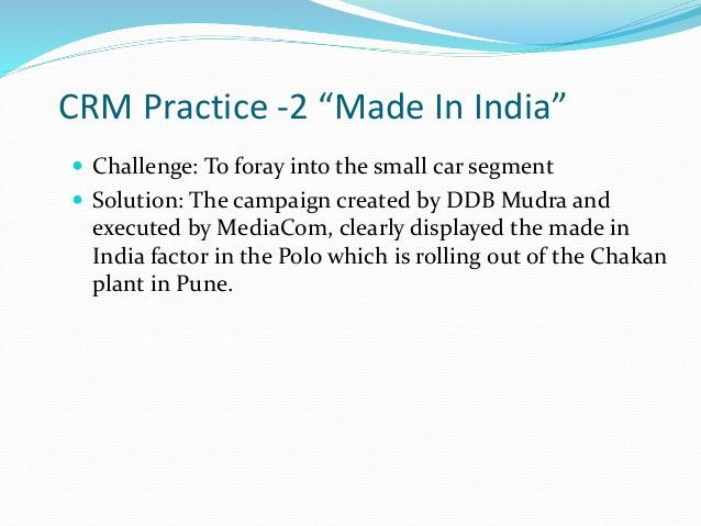 """CRM Practice -3 """"India Assistance Program"""" The services that this program will offer to their passengers will be:  Travel..."""