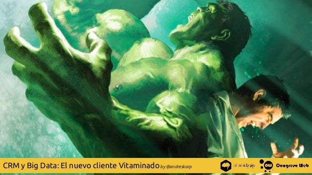 | @andreskarp by @andreskarpCRM y Big Data: El nuevo cliente Vitaminado