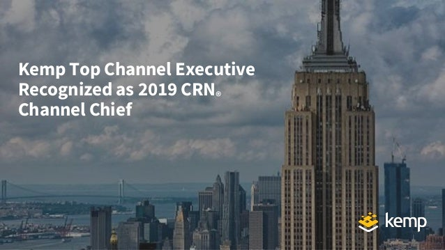 Kemp Top Channel Executive Recognized as 2019 CRN® Channel Chief