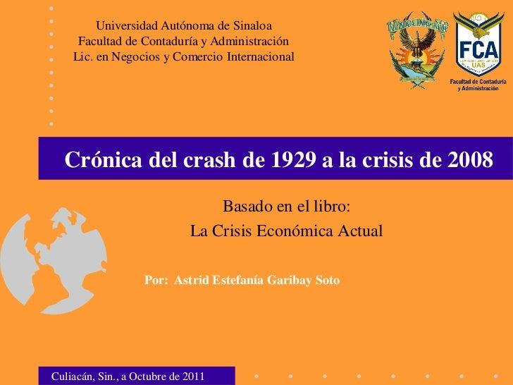 Universidad Autónoma de Sinaloa     Facultad de Contaduría y Administración    Lic. en Negocios y Comercio Internacional  ...