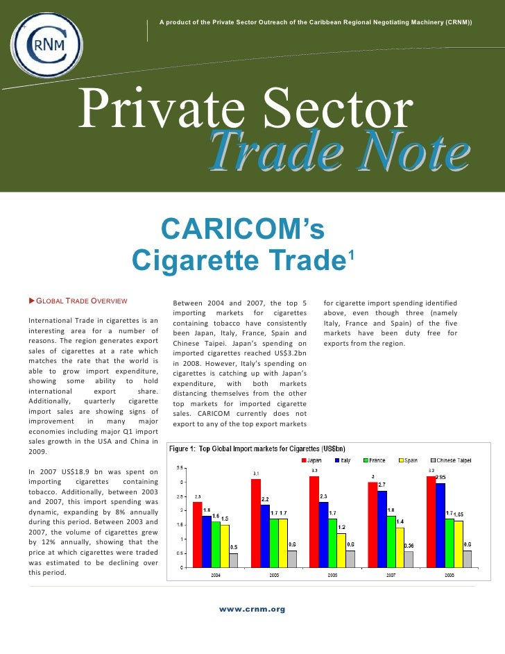 A product of the Private Sector Outreach of the Caribbean Regional Negotiating Machinery (CRNM)) +                       P...