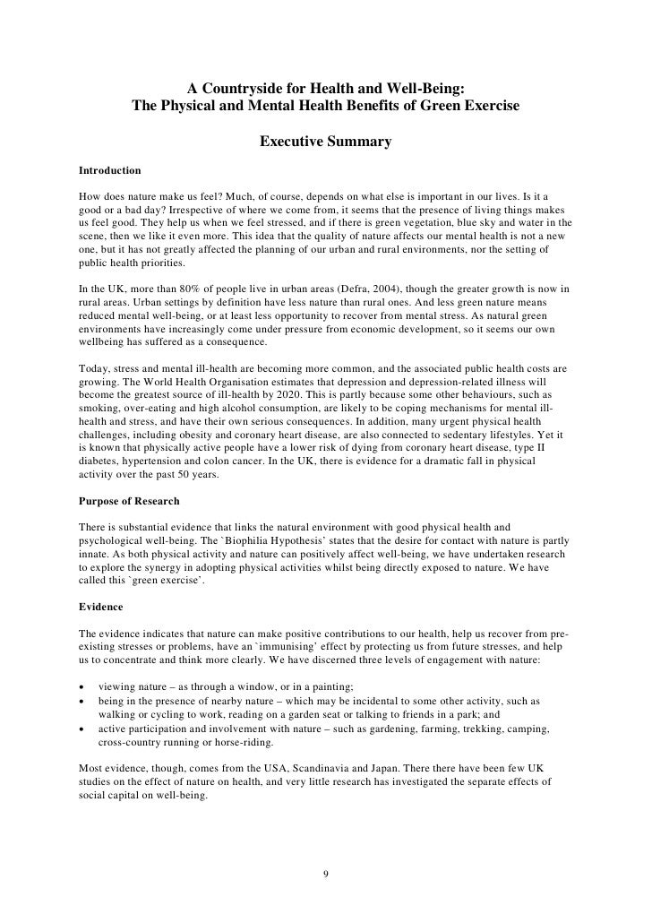 the benefits of physical activity essay Physiological benefits of physical activity  if you are the original writer of this essay and no longer wish to have the essay published on the uk essays website .