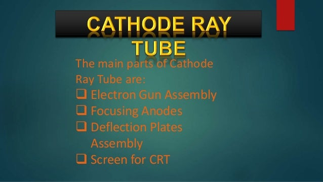 applications of cathode ray oscilloscope pdf