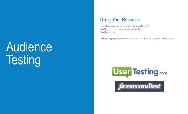 Best Practices & Top Tests
