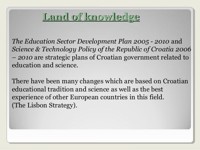 Croatian educational system Slide 2