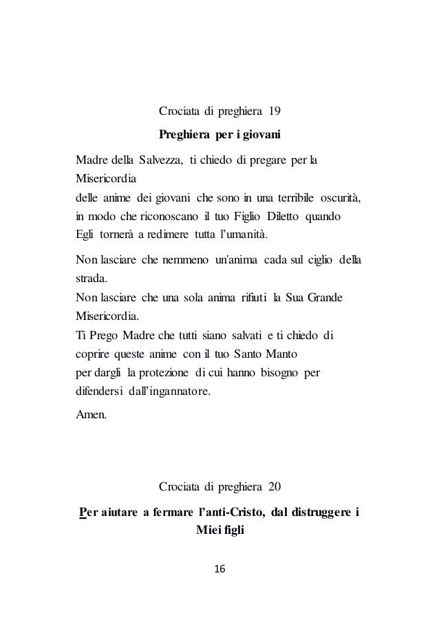 Eccezionale Crociata di Preghiera HD84