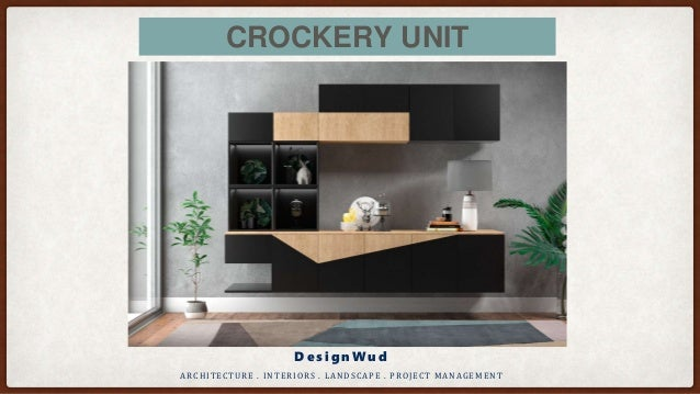 Modern Crockery Cabinet Designs For Dining Room And Living Room The