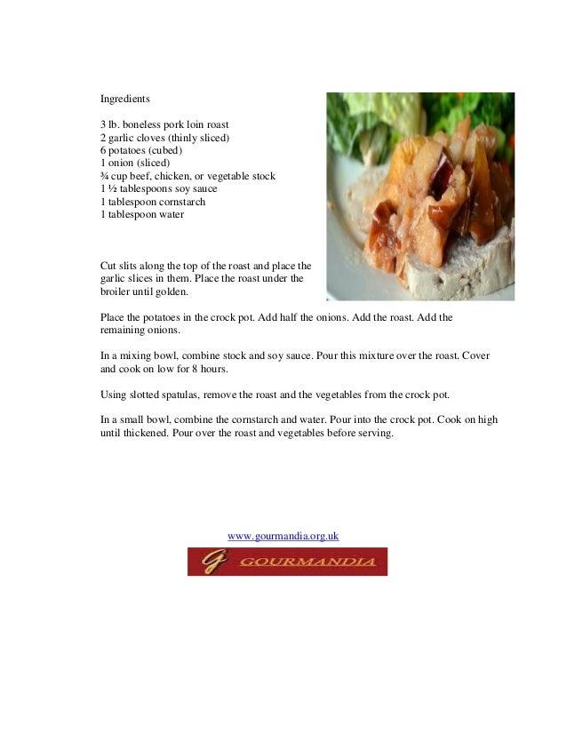 Crock pot roast pork and potatoes Slide 2
