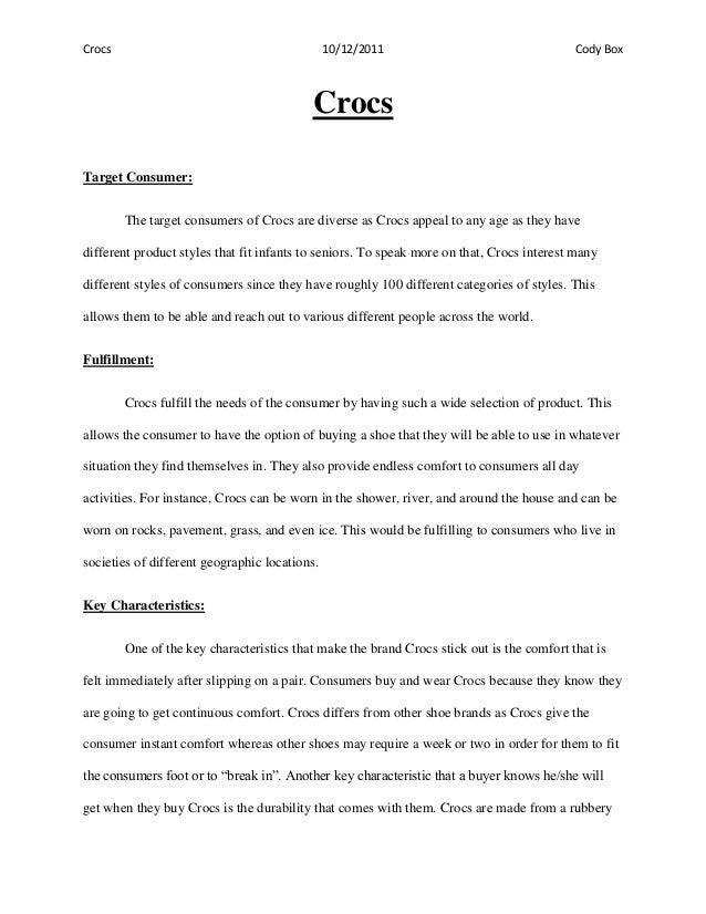 crocs case study questions Home / study / business / operations management / operations management questions and answers / case study: crocs clambers to global efficiency (15e) 1 what management problems typical of  what management problems typical of .
