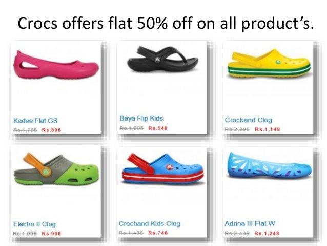 Crocs™ Online Sale – Get Flat 50% off on shopcrocs.in