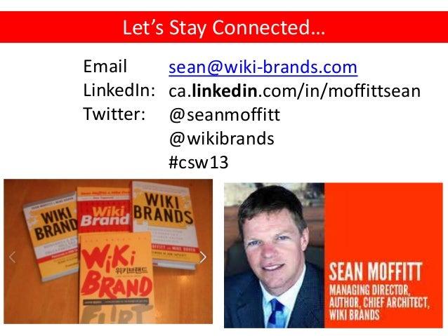 Crowdsourcing Week - Sean Moffitt Opening Keynote