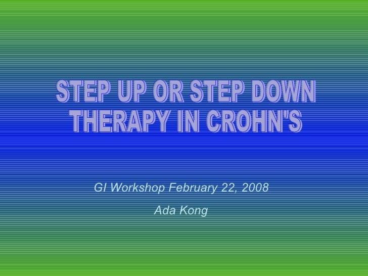 GI Workshop February 22, 2008           Ada Kong
