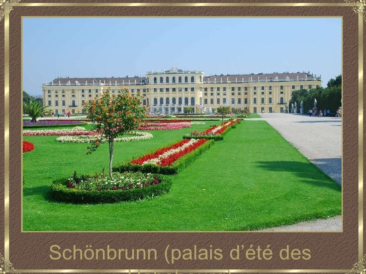 Schönbrunn (palais d'été des Habsbourg)