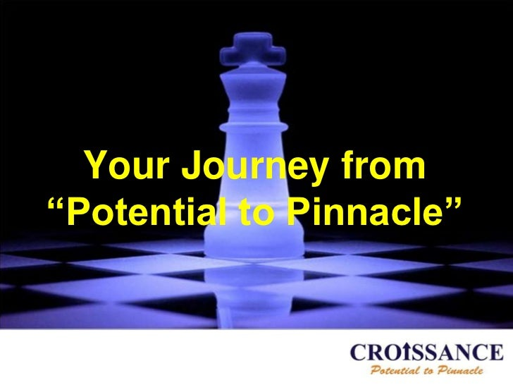 "Your Journey from""Potential to Pinnacle"""
