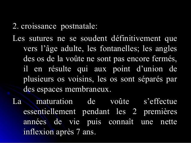 • OssificationOssification  Croissance du massif facialCroissance du massif facial ::  Croissance suturaleCroissance sut...