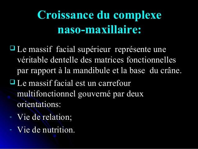 Facteurs agissant sur l'orientation du maxillaire supérieur :Facteurs agissant sur l'orientation du maxillaire supérieur :...