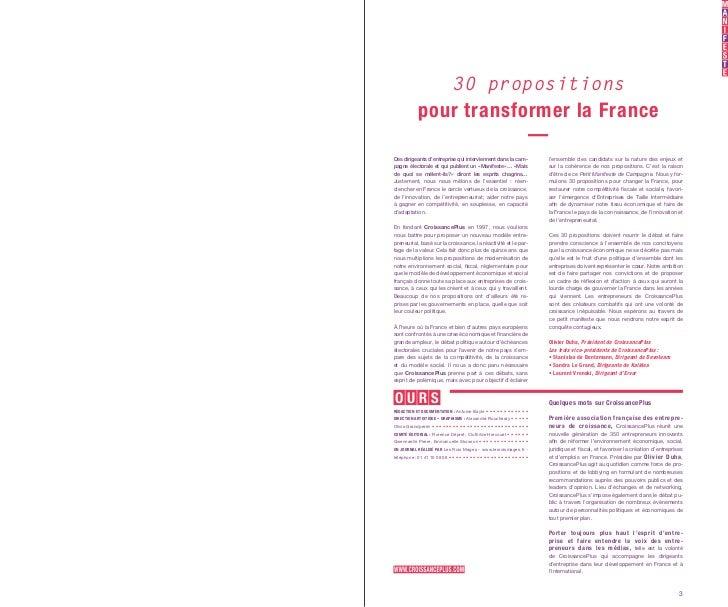 CroissancePlus - Petit Manifeste de Campagne Slide 2