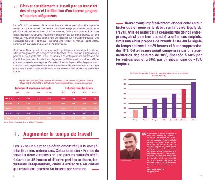 3. Détaxer durablement le travail par un transfert                 des charges et l'utilisation d'un barème progres-      ...