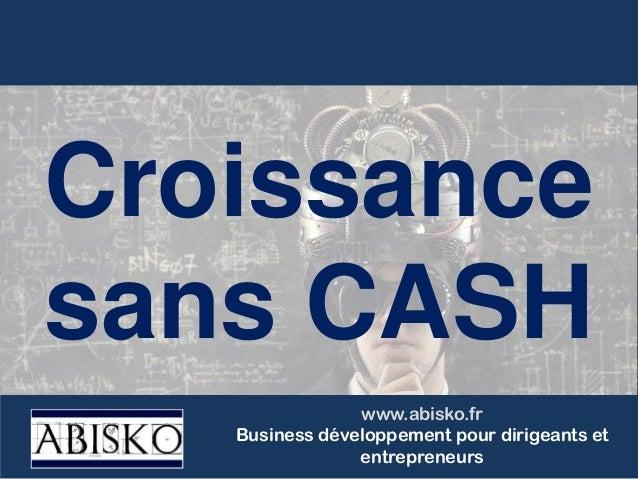 www.abisko.fr Business développement pour dirigeants et entrepreneurs Croissance sans CASH