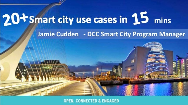 Jamie Cudden - DCC Smart City Program Manager mins