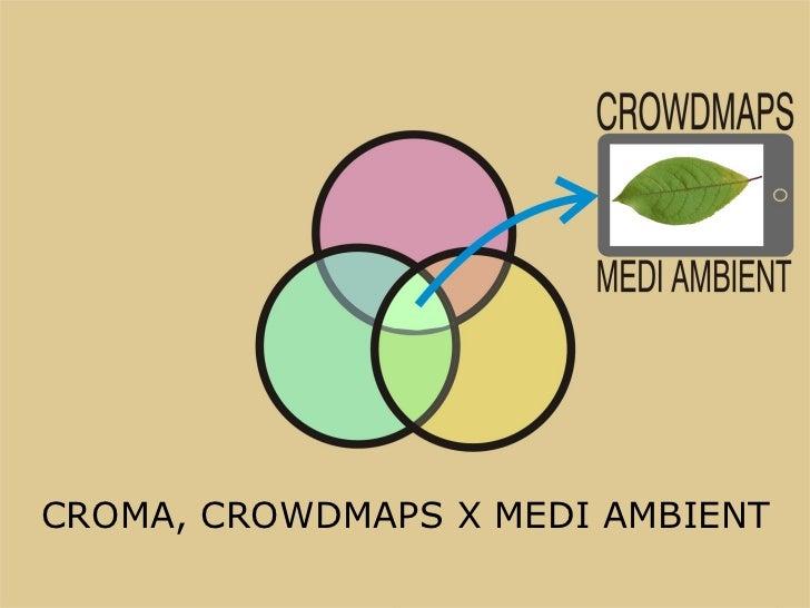 CROMA, CROWDMAPS X MEDI AMBIENT