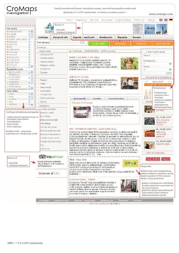 Temelji interaktivnih karata ( ekstrakcije znanja, autorska kartografija rezultat rada                                    ...