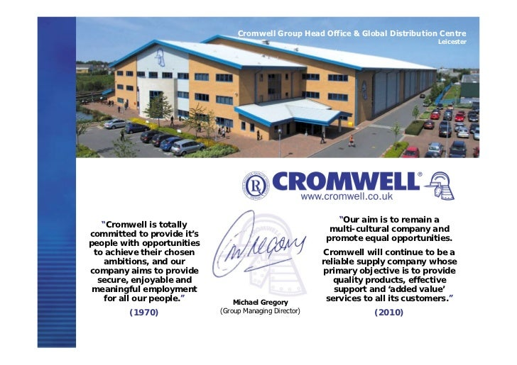 Cromwell Group Holdings 2