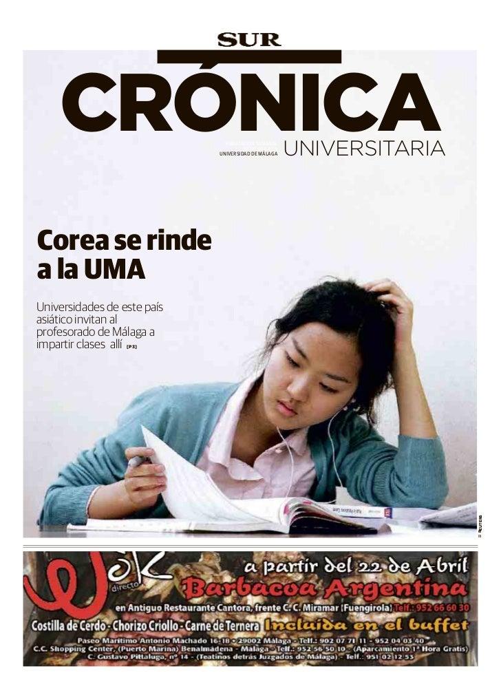 CRÓNICA                    PUBLICACIÓN SEMANAL                                      DEDICADA A LA                         ...