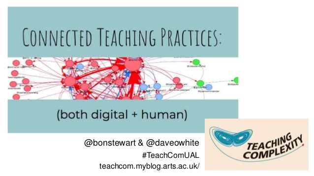 @bonstewart & @daveowhite #TeachComUAL teachcom.myblog.arts.ac.uk/