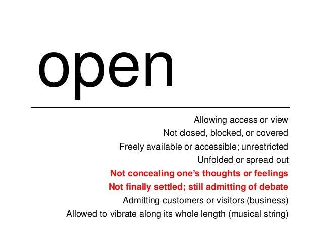 Open Culture, Open Education, Open Questions Slide 3