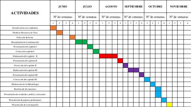 ACTIVIDADES. JUNIO JULIO AGOSTO SEPTIEMBRE OCTUBRE NOVIEMBRE Nº de semanas Nº de semanas Nº de semanas Nº de semanas Nº de...