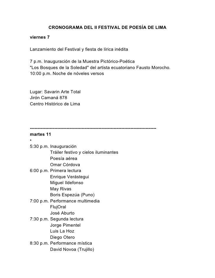 Cronograma poesia-festival