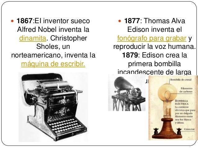 8 inventos de alfred nobel