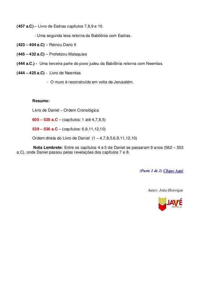 Cronologia Bíblica 539 a 425 a.C (2/2) Slide 3