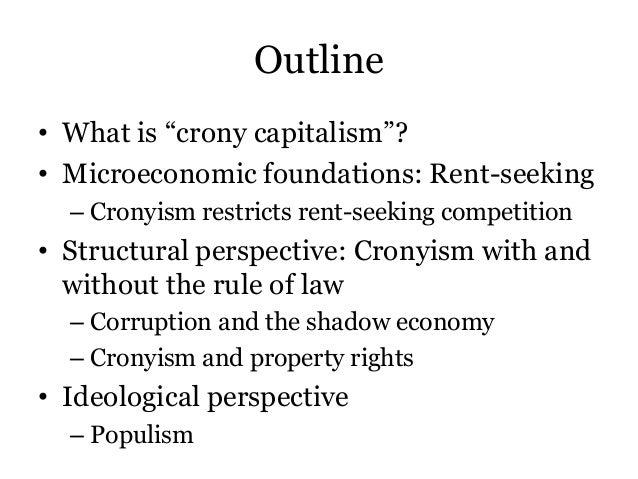 Aligica & Tarko - Crony capitalism Slide 2