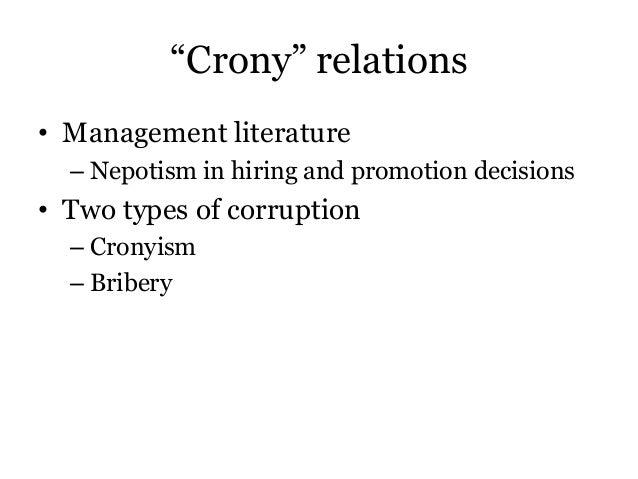 Aligica & Tarko - Crony capitalism Slide 3