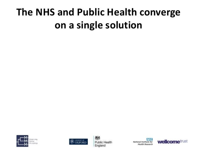 Derrick Crook (Public Health England) Shaping the public