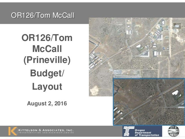 or126 tom mccall prineville budget layout